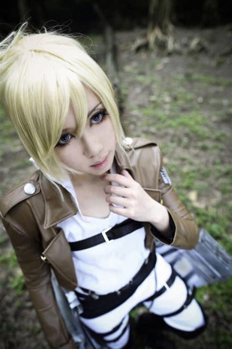 cute mikasa ackerman cosplay by angelica cruz rivera