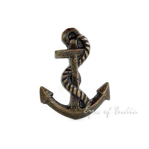 anchor drawer knobs anchor brass door dresser cabinet cupboard knobs pulls