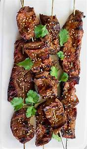 Korean Beef Skewers Recipe SimplyRecipes com
