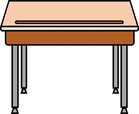 student desk clipart black and white furniture clipart student desk pencil and in color