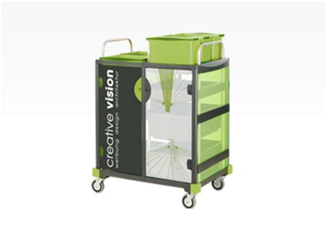 trolley design individualised products system consultation and design vermop
