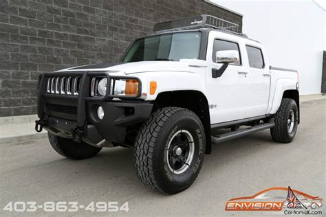 luxury hummer hummer h3t crew cab luxury package sunroof heated