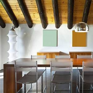 Que Mange Une Souris Dans Une Maison : comment poser une fausse poutre dans la salle manger marie claire ~ Melissatoandfro.com Idées de Décoration