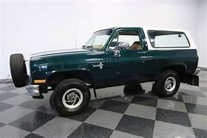 Lifted Green Chevy Forest Service V8 Manual Classics