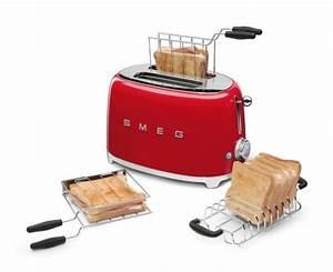Toaster Retro Design : smeg tsf01 toaster f r 2 scheiben im 50er jahre retro design hier alle farben ebay ~ Frokenaadalensverden.com Haus und Dekorationen