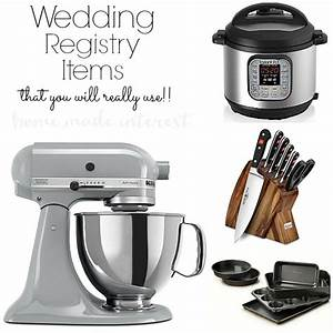 what to put on a wedding registry home made interest With tips on registering for wedding gifts