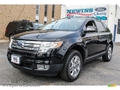 Newins Ford by 2007 Ford Edge Sel Plus Awd In Black B14739