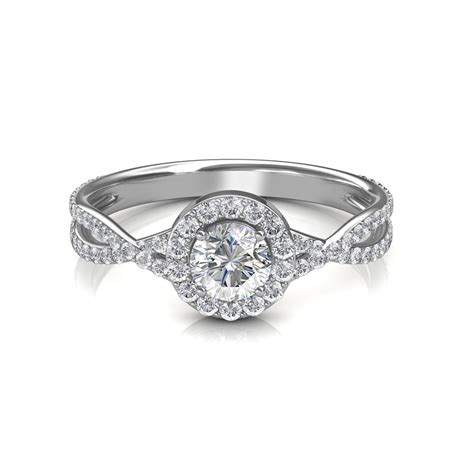 0 64 carat platinum zara engagement ring engagement rings at best prices in india