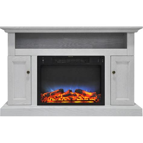 Hanover Kingsford 47 In Electric Fireplace With Multi