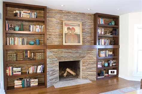 bookcases next to fireplace fireplace bookshelves design made of wood in rectangular