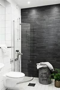 how to make a small half bathroom look bigger dark floor With how to make a small half bathroom look bigger