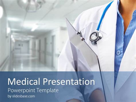 doctor  medicine powerpoint template slidesbase