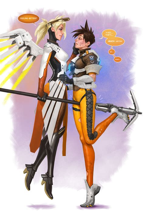 Overwatch Tracer Asks For Mercy By Jediarttrick On