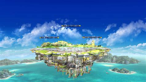battlefield island  omega super smash bros wii  maps