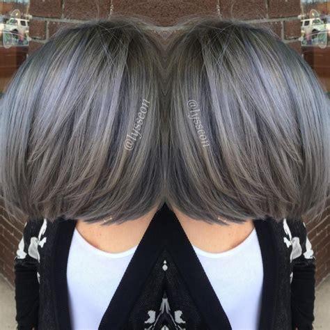 peuter color transformation going pewter hair cabello cabello