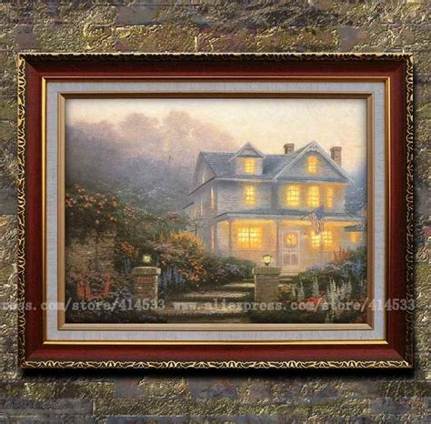 Home Interiors Kinkade Prints by Popular Landscape Painting Buy Cheap