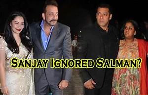 Did Sanjay Dutt Ignore Salman Khan At Kresha Bajaj's ...