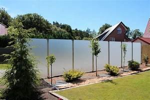 Glasde sichtschutz fur den garten for Garten planen mit wind und sichtschutz balkon