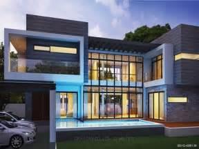 Residential 2 Storey House Plan Modern 2 Story House Plans ...