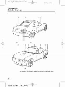 2005 Mazda Mx 5 Miata Owners Manual
