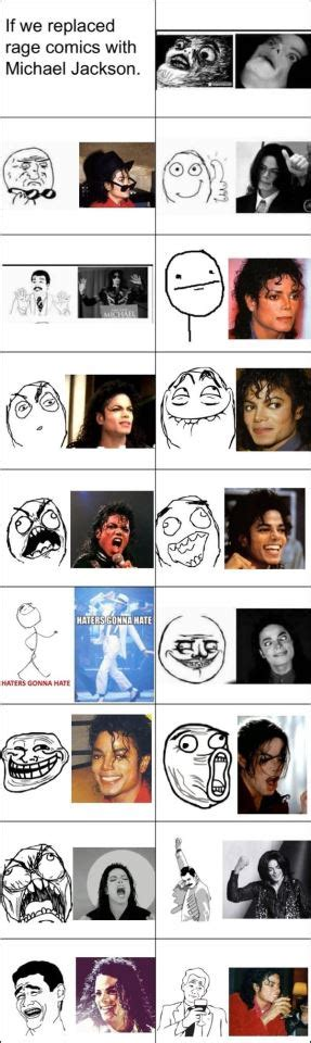 Meme Comic Characters - replace rage comics characters with michael by 931105j on deviantart