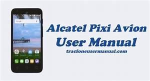Tracfone Alcatel Pixi Avion A570bl    A571vl User Manual