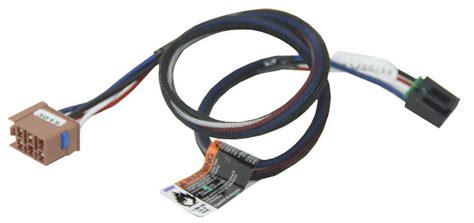 Chevrolet Silverado Tekonsha Plug Wiring