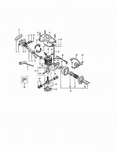 358 350370 Craftsman 16 Inch Gas Powered Chain Saw