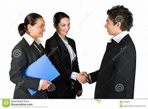 Handshake And Meeting Business People Royalty Free Stock ...