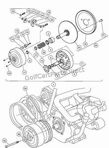 Drive Clutch  U2013 Carryall 2 Plus  And Turf  Carryall 6