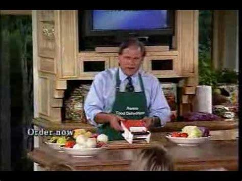 ronco food dehydrator  veg  matic full infomercial