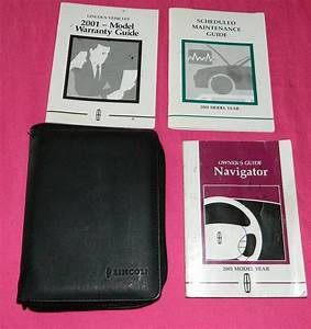 Find 2001 01 Lincoln Navigator Owners Owner U0026 39 S Manual Guide