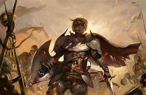 Wallpaper, Women, Knight, War, Artwork, Armor, Sword, Concept, Art, Shield, Comics, Mythology