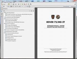 Mg Zt-ztt - Service Manual    Repair Manual - Wiring Diagram