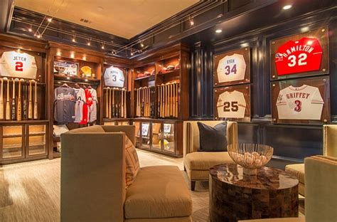 framed jerseys from sports themed bedrooms to