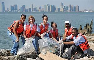 These people represent community service because the are ...