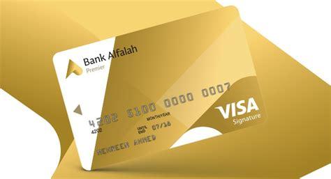 alfalah premier visa signature debit card bank alfalah