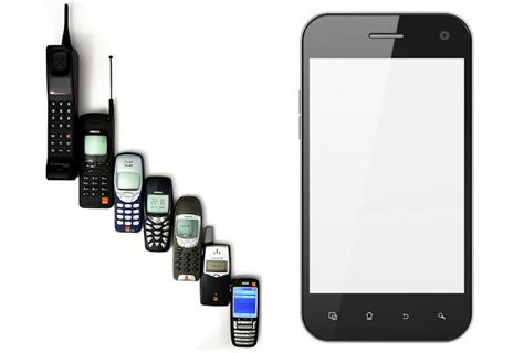 cell phone the evolution of cell phones planet s android