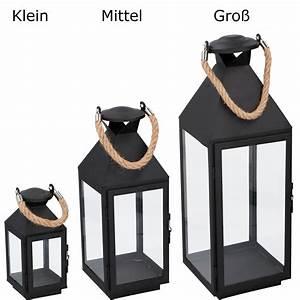 Laterne Metall Schwarz : laterne metall 1 windlicht dekoration kerze f r garten ~ Whattoseeinmadrid.com Haus und Dekorationen