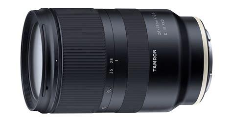 tamron announces development of 28 75mm f 2 8 fe lens