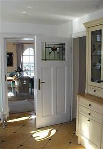Zimmertür Mit Glaseinsatz : restaurierte und wieder eingebaute historische zimmert r mit jugendstil bleiverglasung ~ Yasmunasinghe.com Haus und Dekorationen