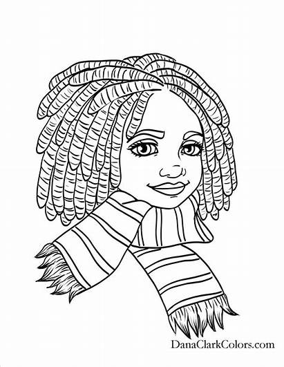 African American Woman Drawing Coloring Pages Getdrawings