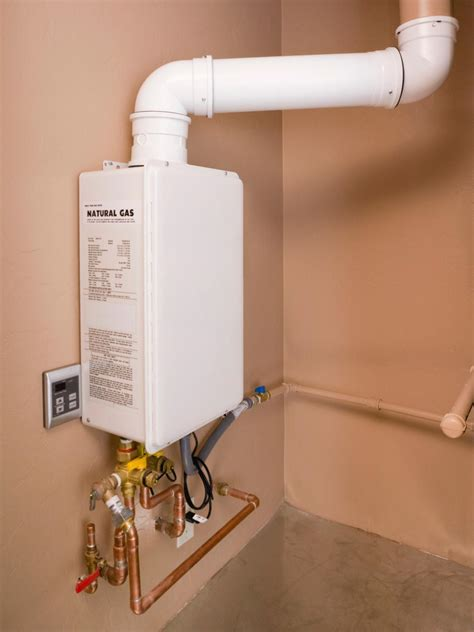installing a tankless water heater installing a tankless water heater hgtv