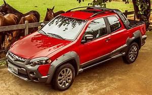 Fiat Strada Manga Larga Marchador  Fotos E Pre U00e7os