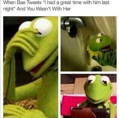 Sitting Frog Meme - top 20 funniest kermit the frog memes funny picture