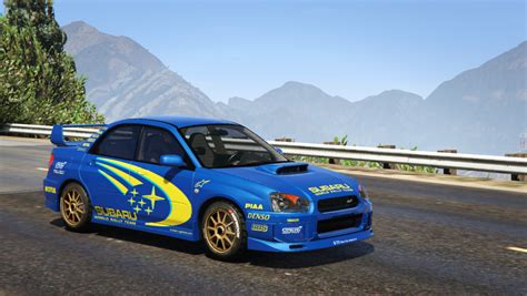 subaru wrc subaru impreza wrx sti 2004 world rally team livery