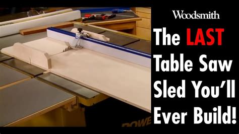 building   table  sled youll   plans