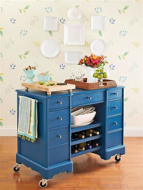 Rolling Kitchen Island Diy   WoodWorking Projects & Plans