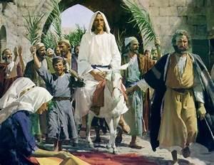 Divine Mercy Apostolate: Jesus Enters Jerusalem [Palm Sunday]