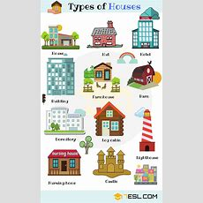 Different Types Of Houses In English  English Pinterest